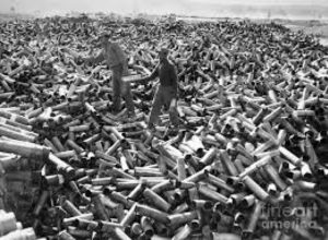 90 000 rounds in a month = one every 30 seconds + plus incoming fire