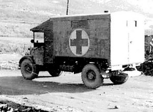 Korean War Ambulance