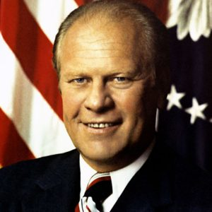 US President Gerald Ford 1975-77