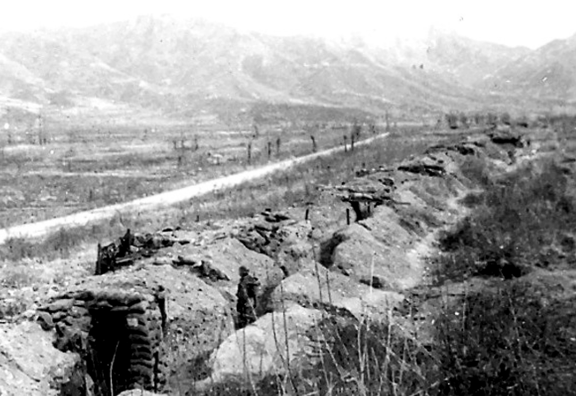Iron Triangle near Kumwah jJanuary 1953