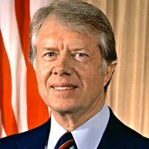 US President Jmes Carter 1977-80