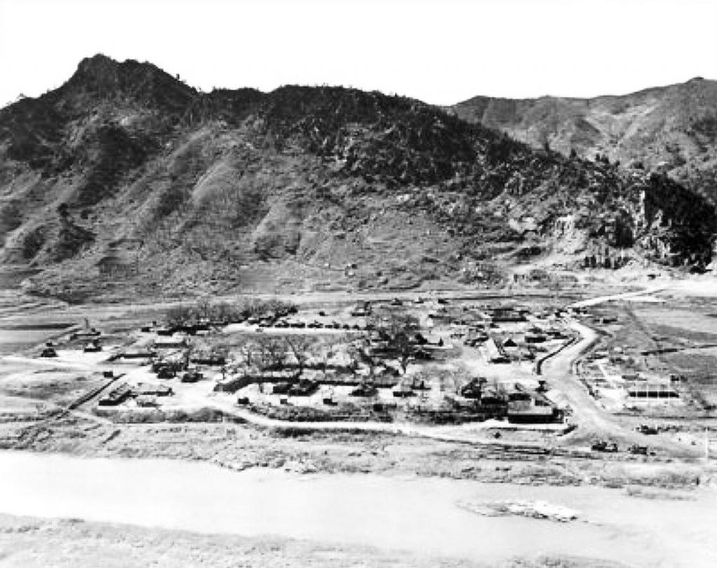 NORMASH Bivouac at Habongam-ri 1952