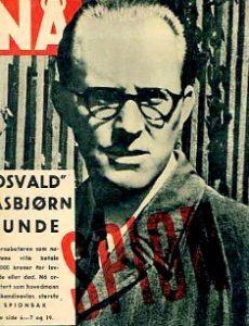 Forside billedbladet Nå, 1954