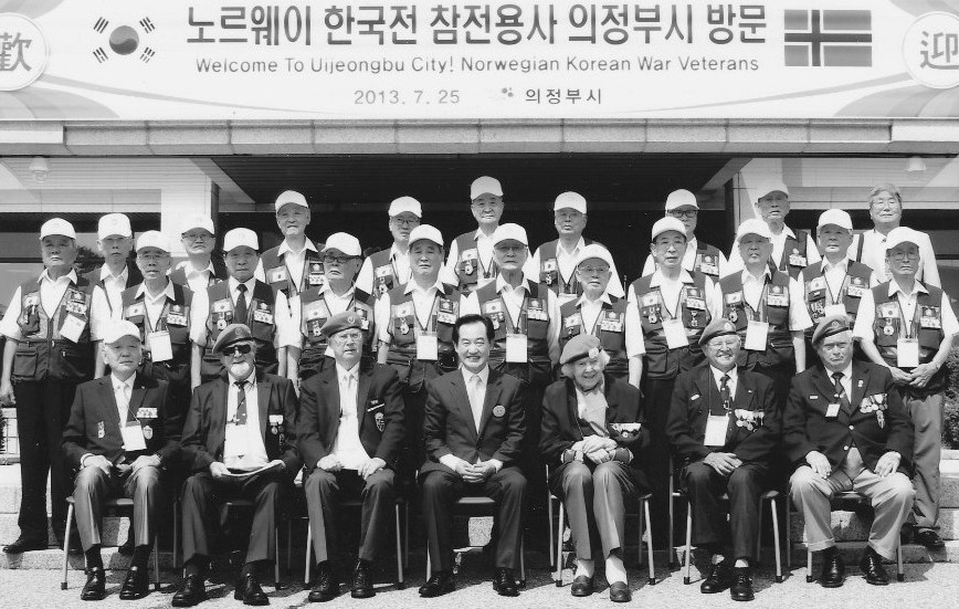 NORMASH Veterans visit Uijongbu in 2013